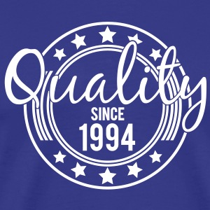 Birthday - Quality since 1994 (nl) T-shirts - Mannen Premium T-shirt