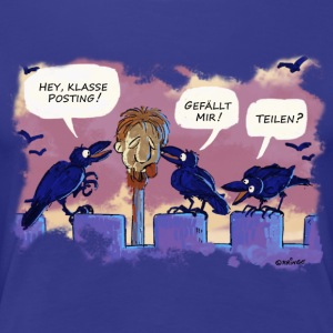 Klasse Posting! T-Shirts - Frauen Premium T-Shirt