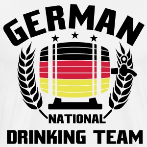 NATIONAL DRINKINGTEAM GERMANY T-Shirts - Männer Premium T-Shirt