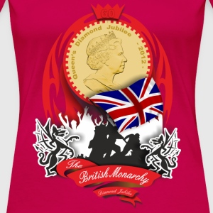 british monarchy - diamond jubilee T-Shirts - Women's Premium T-Shirt