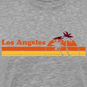 Los Angeles Sunset TS Homme - T-shirt Premium Homme