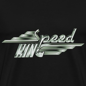 Speed King - White Steel - Männer Premium T-Shirt