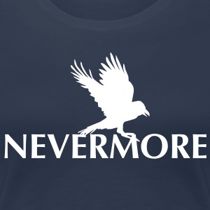 Nevermore 2 - Frauen Premium T-Shirt