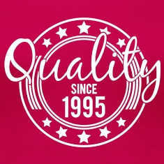 Birthday - Quality since 1995 (uk) T-Shirts