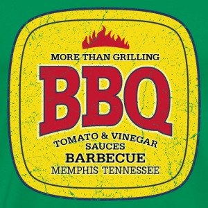 BBQ Barbecue - More Than Grilling (oldstyle) - Männer Premium T-Shirt