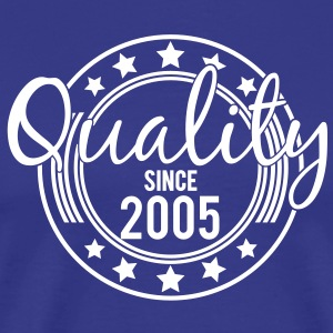 Birthday - Quality since 2005 (it) T-shirt - Maglietta Premium da uomo