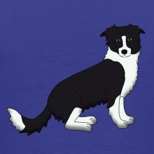 Border Collie T-Shirts - Men's Premium T-Shirt