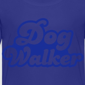dog walker cute font pets helpful Shirts - Kids' Premium T-Shirt