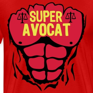 avocat super corps muscle bodybuilding Tee shirts - T-shirt Premium Homme