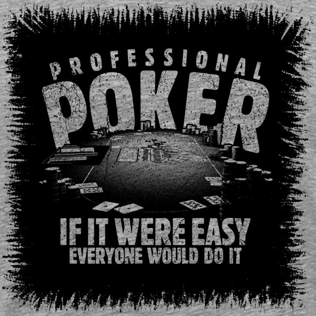 Professional Poker black (oldstyle)