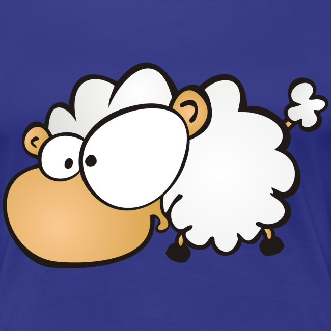 Let's get Crazy - Sheep on Girlieshirt