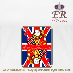 hrh queen of diamonds jubilee 2012 T-Shirts - Women's Premium T-Shirt
