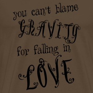 Love gravity - Men's Premium T-Shirt