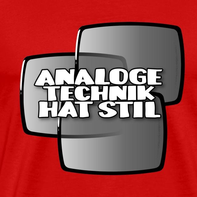 analoge Technik hat Stil