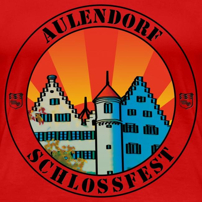 Schlossfest Shirt schwarz