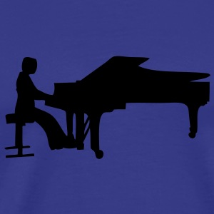 pianiste silhouette2 Tee shirts - T-shirt Premium Homme