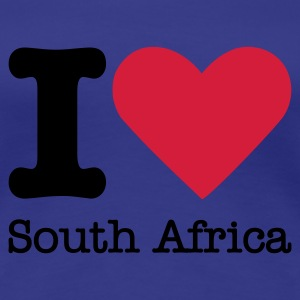 I Love South Africa T-shirts - Vrouwen Premium T-shirt
