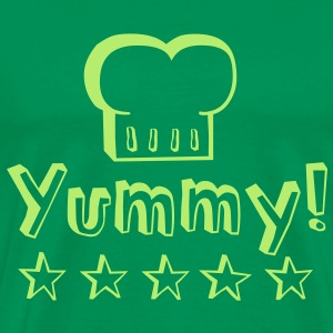 Yummy food tastes good! T-Shirts - Men's Premium T-Shirt