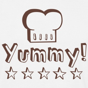 Yummy food tastes good! T-Shirts - Men's T-Shirt