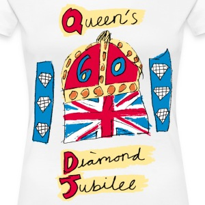 The Queen's Diamond Jubilee - Women's Premium T-Shirt