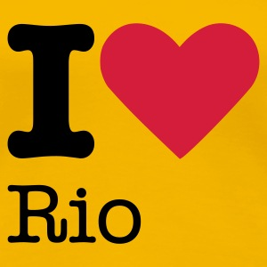 I Love Rio T-Shirts - Frauen Premium T-Shirt