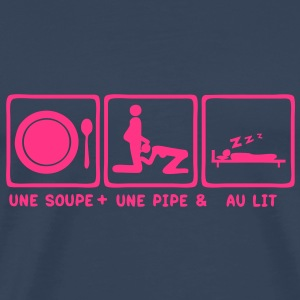 soupe pipe lit bed blowjob2 Tee shirts - T-shirt Premium Homme