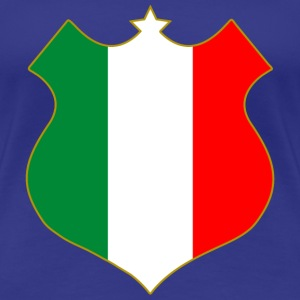 italia shield T-Shirts - Frauen Premium T-Shirt