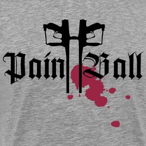 Paintball Godfellas Design - Männer Premium T-Shirt