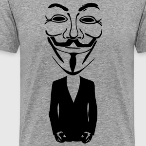 anonymous mask masque5 Tee shirts - T-shirt Premium Homme