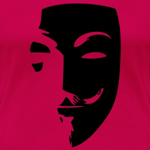 anonymous mask masque1 Tee shirts - T-shirt Premium Femme