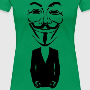 anonymous mask masque5 Tee shirts - T-shirt Premium Femme