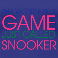 Design ~ WONDERFUL GAME SNOOKER