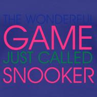 Motiv ~ WONDERFUL GAME SNOOKER