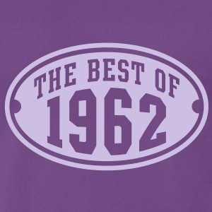 THE BEST OF 1962 - Birthday Anniversary T-Shirt LF - Men's Premium T-Shirt