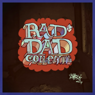 Design ~ Art by Elph, 'Radicaldadicals' - Exclusively for Rad Dad Collective