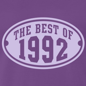 THE BEST OF 1992 - Birthday Anniversaire T-Shirt LF - T-shirt Premium Homme