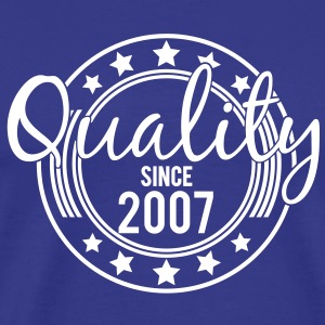 Birthday - Quality since 2007 (sv) T-shirts - Premium-T-shirt herr