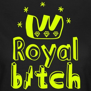 Royal Bitch T-shirt - Maglietta da donna