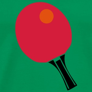 raquette tennistable pingpong racket ball Tee shirts - T-shirt Premium Homme