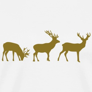 animation cerf deer1 Tee shirts - T-shirt Premium Homme