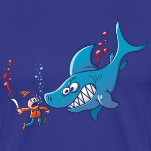 Sharks are Furious, Stop Finning! T-Shirts - Men's Premium T-Shirt