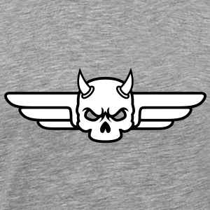 Devil Wings T-Shirts - T-shirt Premium Homme