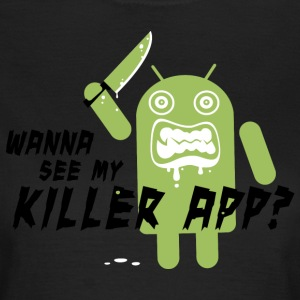 Killer App Android T-shirts - Dame-T-shirt