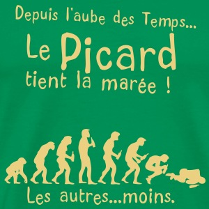 picard maree aube alcool temps Tee shirts - T-shirt Premium Homme
