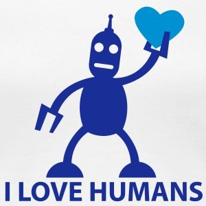 love humans - Frauen Premium T-Shirt