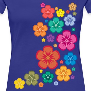 New Age Flower Power T-Shirts - Frauen Premium T-Shirt