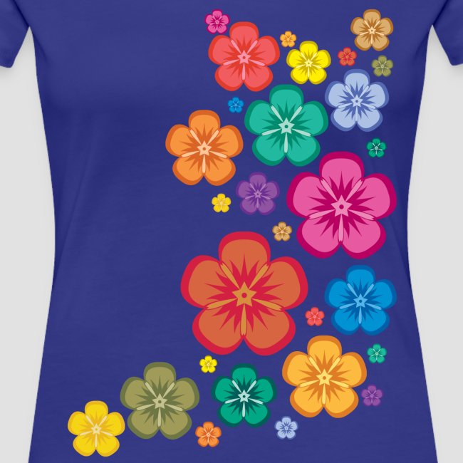 New Age Flower Power Girlieshirt