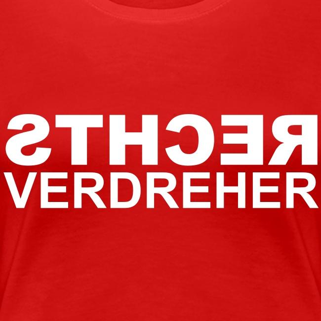 Rechtsverdreher Women T-Shirt