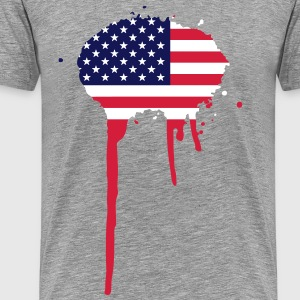 United Splash of America - Flag T-Shirts - Men's Premium T-Shirt