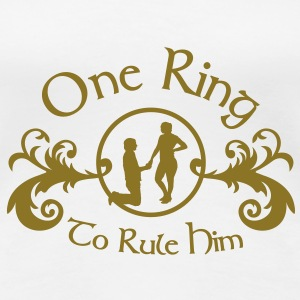 one ring to rule him T-Shirts - Frauen Premium T-Shirt